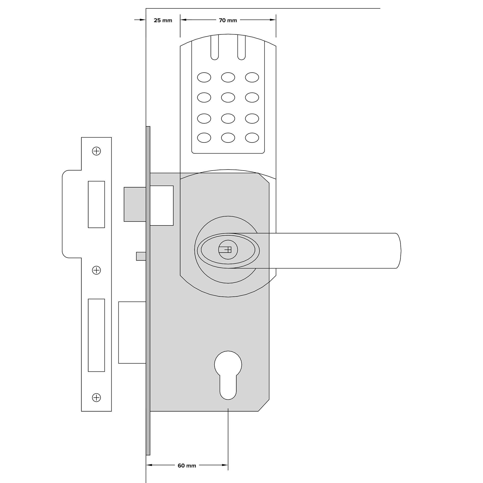 fechaduras de controlo remoto